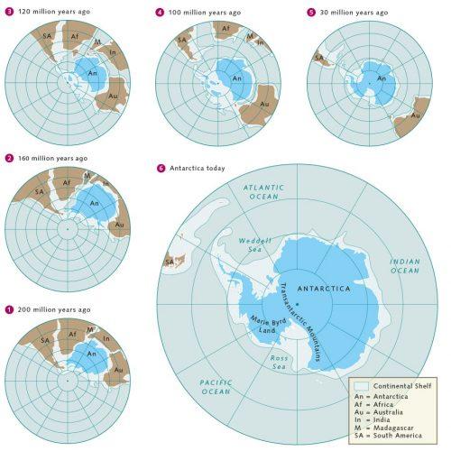 fig. 1.7 © after Arbeitskreis Geologie und Geophysik der Polargebiete der Deutschen Gesellschaft für Polarforschung