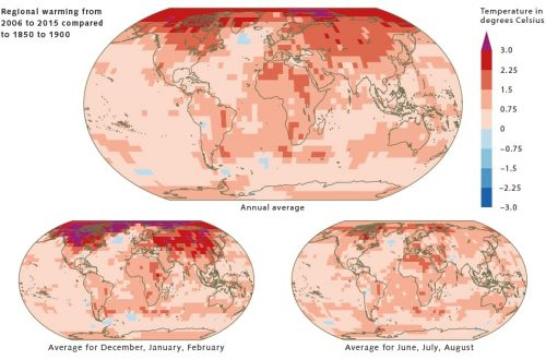 fig. 3.3 © after IPCC, Special Report on the impacts of global warming of 1.5°C above pre-industrial levels and related global greenhouse gas emission pathways