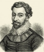 8.7 > Respektierter Seeräuber: Sir Francis Drake (1540 bis 1596) war ein geachteter englischer Kapitän, der von den Spaniern wegen seiner räuberischen Überfälle aber eher als Pirat betrachtet wurde. 1581 wurde er von der englischen Krone sogar zum Ritter geschlagen. ©Sammlung Rauch/INTERFOTO