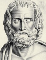 9.1 >  Works by the ancient Greek dramatist Euripides (ca. 480 to 406 B.C.) are still being staged today. The sea is a fateful element of his tragedies, acting as both a threat and a source of life. © Bettmann/Corbis