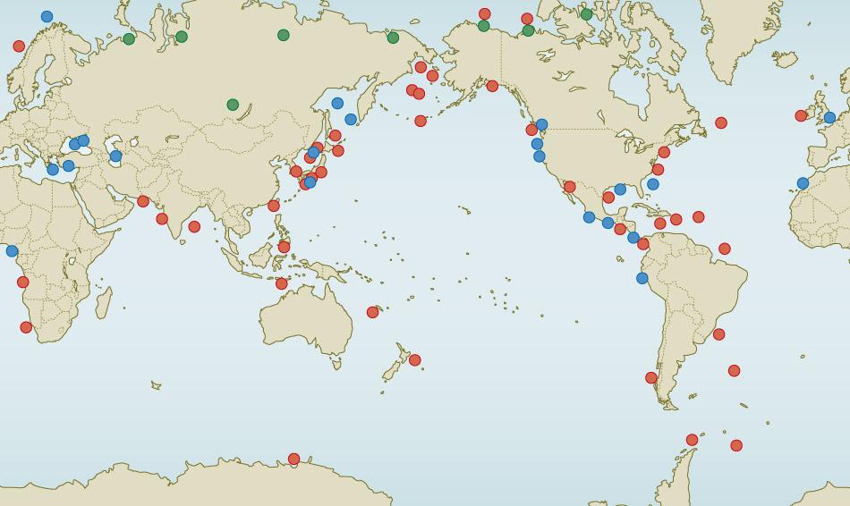 Methanhydrate « World Ocean Review