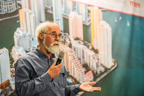 Prof. em. Dr. Karsten Reise, ehemaliger Leiter der Wattenmeerstation Sylt des Alfred-Wegener-Instituts © Jan Windszus / maribus