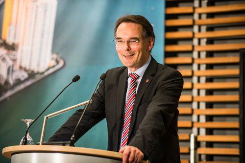 Staatssekretär Ingbert Liebing, Bevollmächtigter des Landes Schleswig-Holstein beim Bund © Jan Windszus / maribus