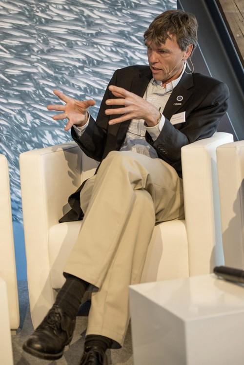 "Prof. Dr. Martin Visbeck, chairman Cluster of Exellence ""The Future Ocean"" © Heike Ollertz"
