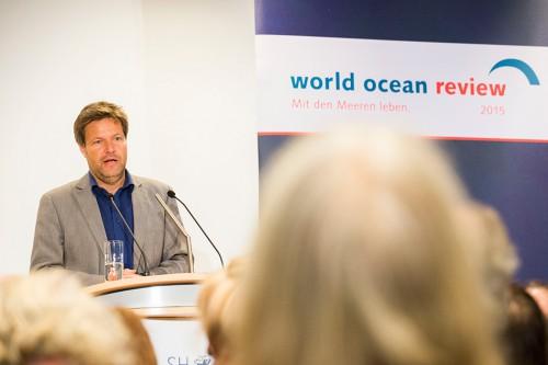 Dr. Robert Habeck, Umweltminister des Landes Schleswig-Holstein