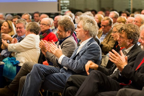 from left to right: Prof. Dr. Antje Boetius, Prof. Dr. Konrad Ott, Gesine Meißner, Dr. Robert Habeck, Nikolaus Gelpke, Prof. Dr. Martin Visbeck