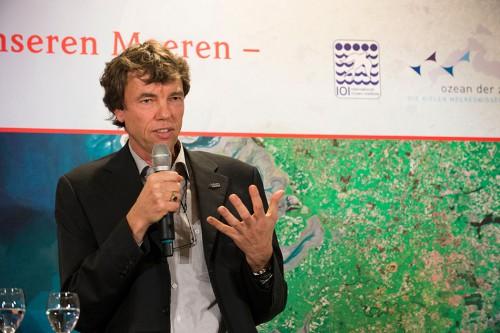 """Prof. Dr. Martin Visbeck, Ozeanograph am GEOMAR Helmholtz-Zentrum für Ozeanforschung Kiel und Sprecher des Exzellenzclusters """"Ozean der Zukunft"""""""