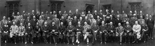 3.1 > Venerable gentlemen of fisheries science: ICES researchers held their statutory meeting at the House of Lords in London in 1929. Upon its foundation in 1902, the ICES had 8 member nations: today it has 20. © ICES 2012