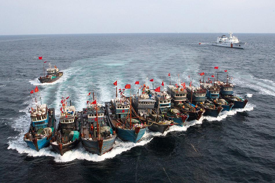Южная Корея и Китай решили начать совместную борьбу с незаконным промыслом рыбы