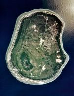 Abb. 4.2 > Der Inselstaat Nauru ist die kleinste Republik der Welt und mit etwa 20 Quadratkilometern nur doppelt so groß wie die Insel Capri. © ARM, Courtesy: U.S. Department of Energy's Atmospheric Radiation Measurement Program