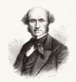 fig. 1.11: The English philosopher and economist John Stuart Mill noted in the 1870s that nature would suffer further destruction unless population growth was halted. ©mauritius images/Alamy