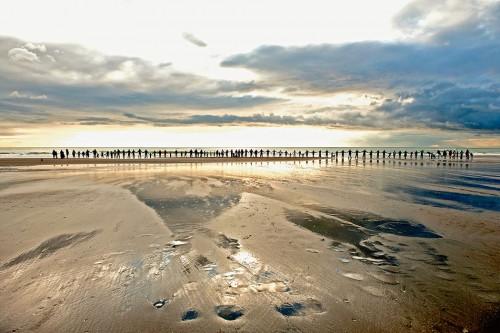 Abb. 4.5: Kritiker fordern, dass die Bedrohung, die vom Meeresbergbau und der Ölförderung in der Tiefsee ausgeht, in den SDGs klarer definiert werden muss. Wie hier in Miami Beach gab es bereits viele Proteste gegen den Ausverkauf des Meeresbodens. © Tim Rainger/ Clean Media NZ
