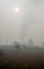 fig. 4.10: China is one of the world's largest producers and consumers of coal. Coking plants are particularly densely concentrated in Linfen in the southwest of Shanxi Province. The US Blacksmith Institute rated the city among the world's most polluted places in both 2006 and 2007. © Natalie Behring/Panos Pictures/Visum