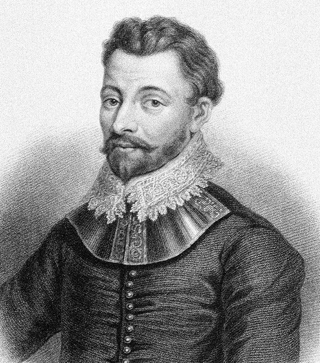 Abb. 2.5: In England ein Held, in Spanien ein Schuft: der Kaperer  Sir Francis Drake (1540–1596). © Interfoto/National Maritime Museum, London