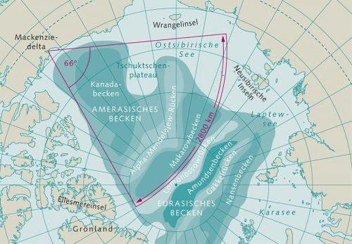 Abb. 1.10 © nach Arbeitskreis Geologie und Geophysik der Polargebiete der Deutschen Gesellschaft für Polarforschung
