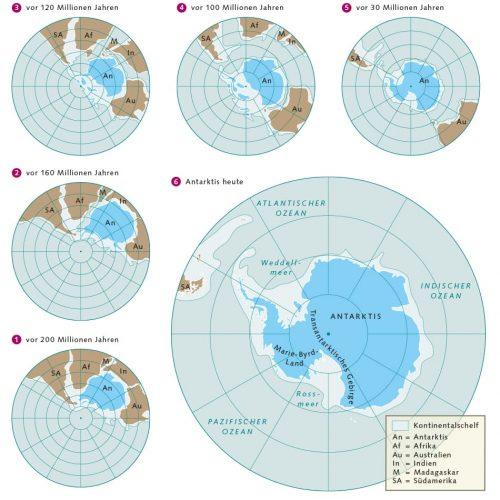 Abb. 1.7 © nach Arbeitskreis Geologie und Geophysik der Polargebiete der Deutschen Gesellschaft für Polarforschung