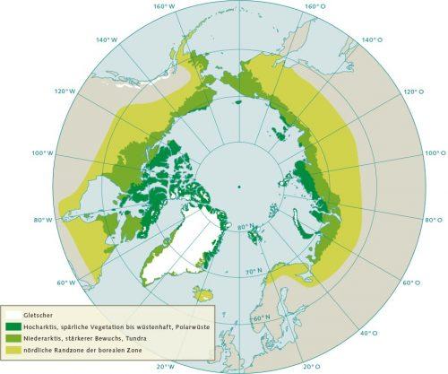Abb. 4.15 © nach AMAP, Arctic Biodiversity Assessment